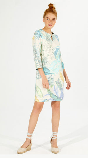Vilagallo Greta Dress - Roatan Print
