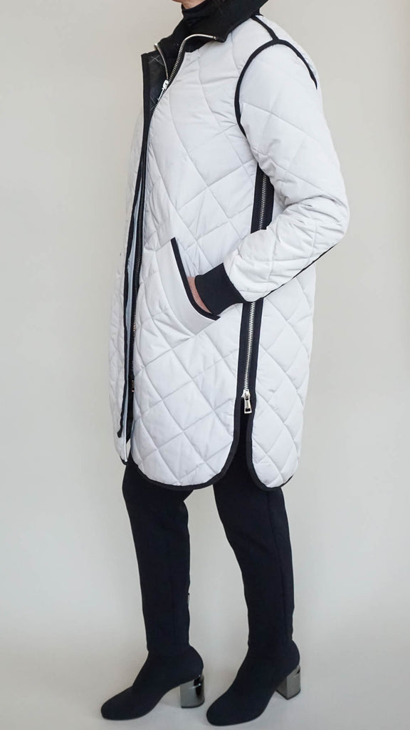 Sosken Gemma Quilted Jacket - Cement