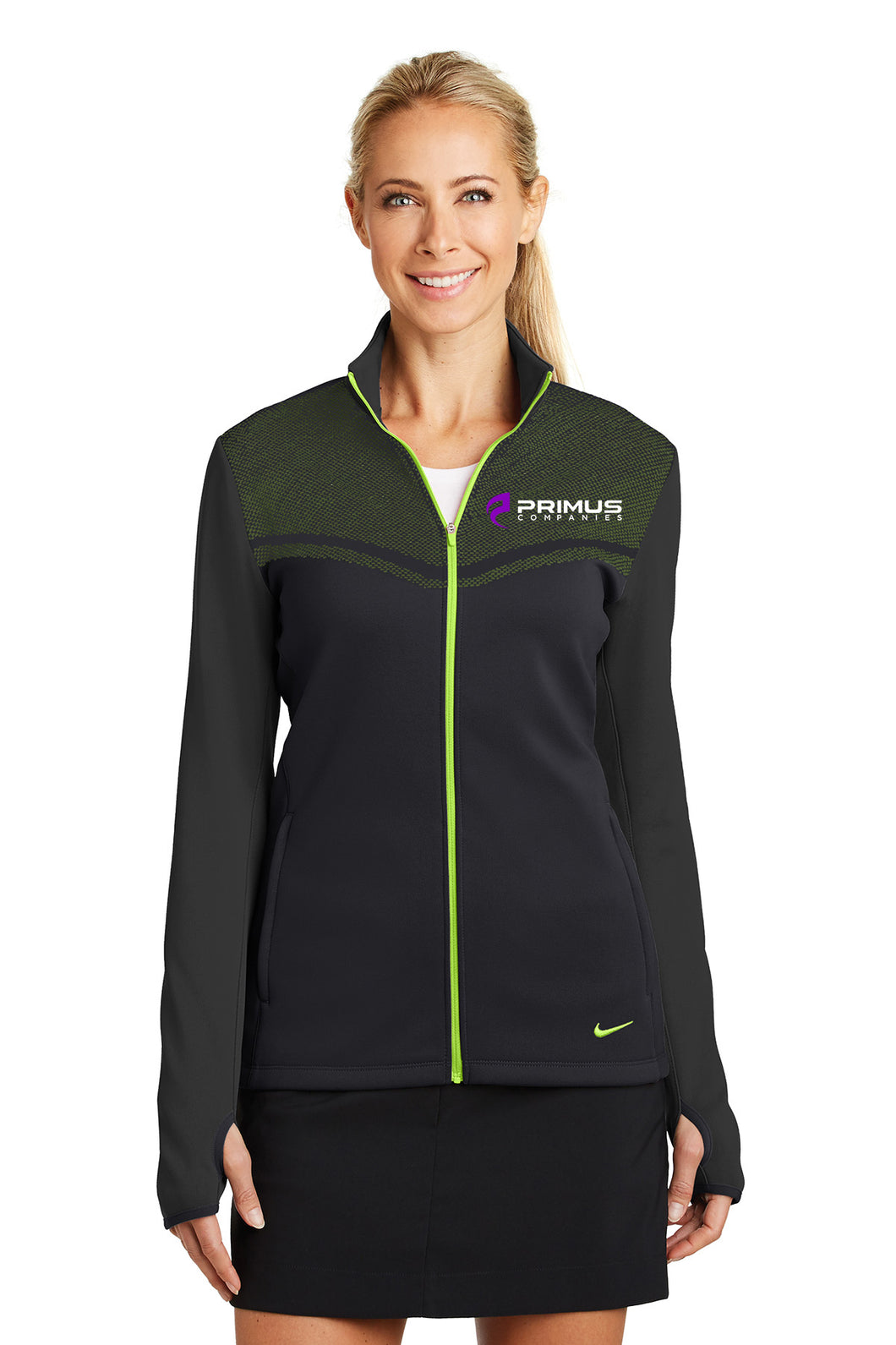 Nike: Ladies Therma-Fit Hypervis Full-Zip Cover-Up (779804)