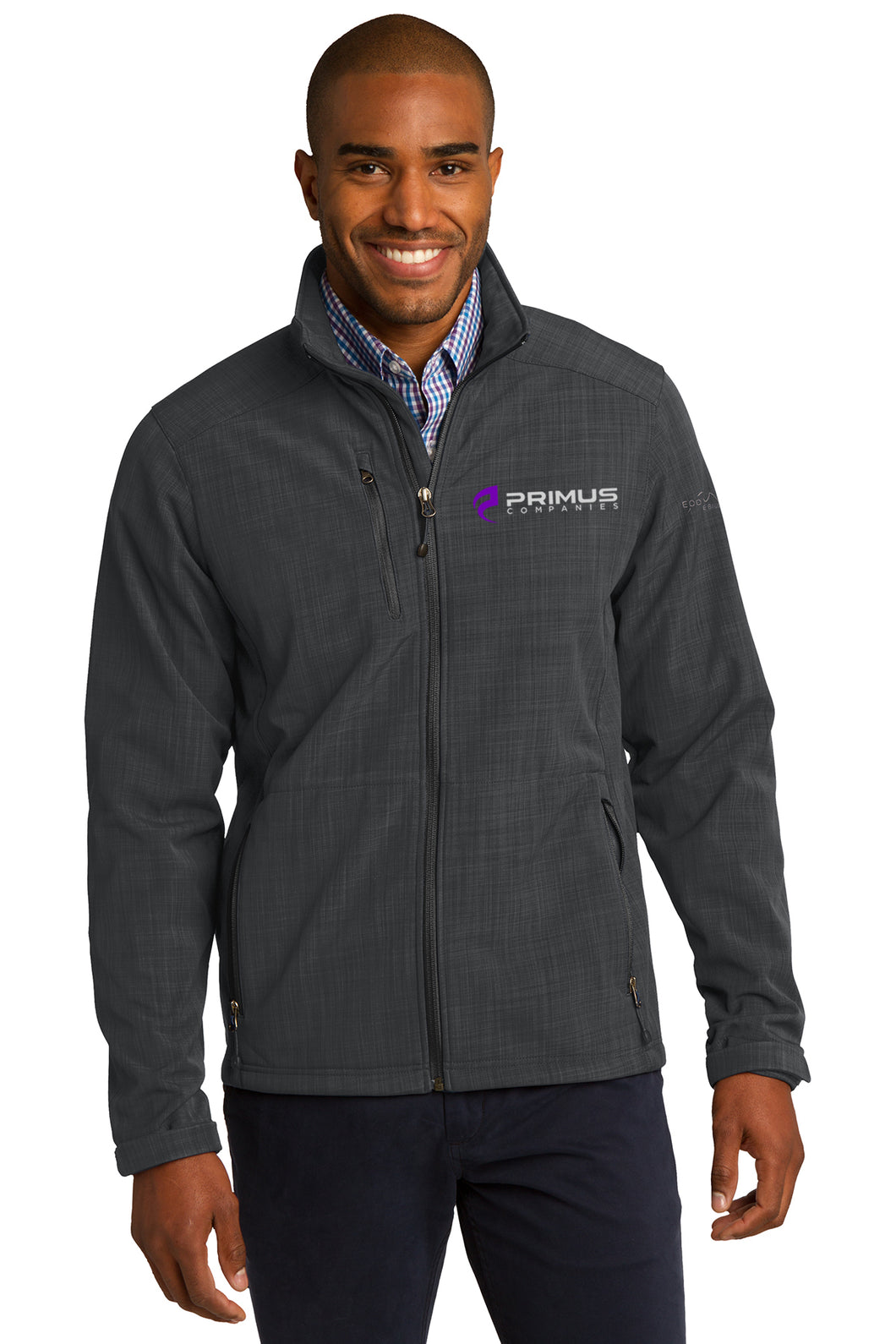 Eddie Bauer Shaded Crosshatch Soft Shell Jacket (EB532)
