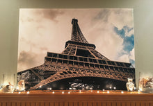 "Pre-made Eiffel Tower (46"" x 30"")"