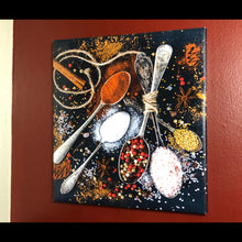 "Pre-made Kitchen Spices (14"" x 16"")"