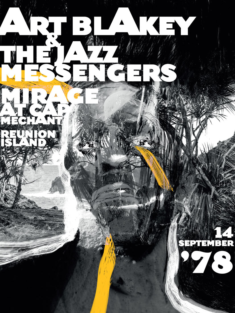 Art Blakey & The Jazz messengers // Cap Méchant by Jeremy Soudant // Format 60x80cm