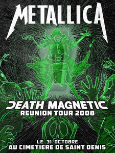 Metallica // Death Magnetic Reunion Tour by Logan Manglou // 60x80