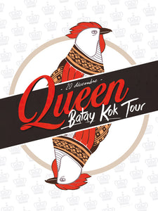 Queen // Bataye Kok Tour by Guillaume Clarisse // 60x80