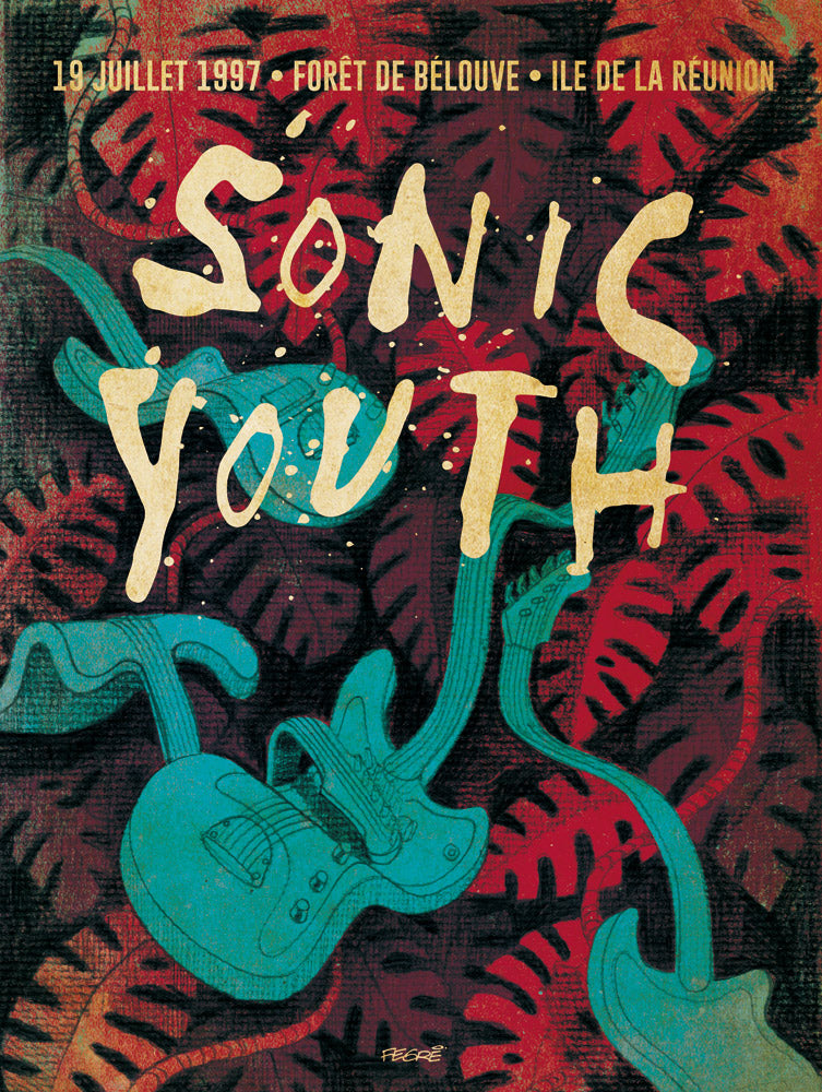 Sonic Youth // Blouse by Freddy Fegré // 60x80