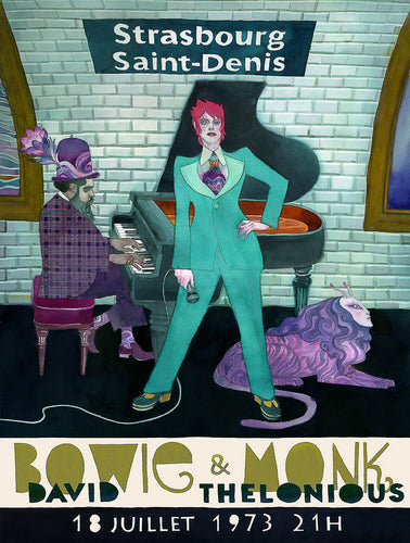 Bowie & Monk // by David Sala // Format 60x80