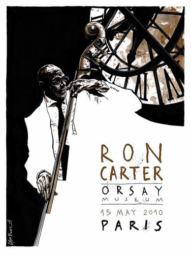 Ron Carter // by Christophe Chabouté // format 60x80