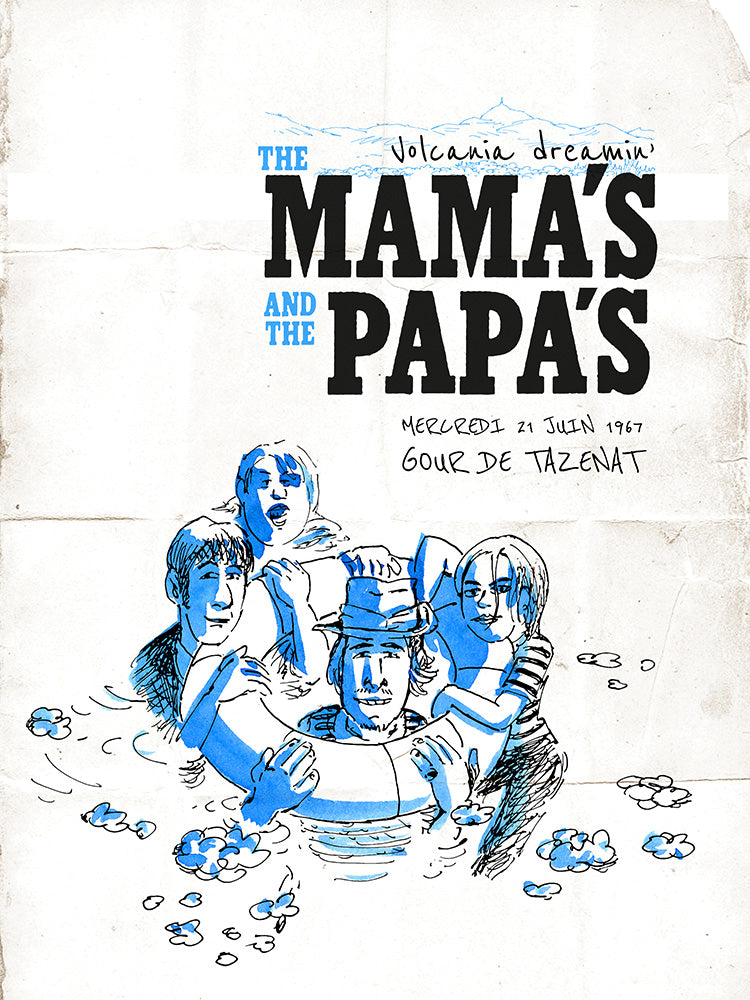 The Mama's And The Papa's // by Laurent Bordier // Format 60x80