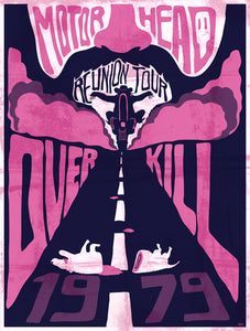 Motorhead // Over Kill by Hippolyte // 60x80