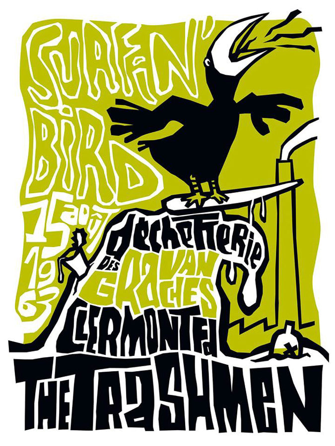 Surfin Birds // by Fred Fahler // Format 60x80