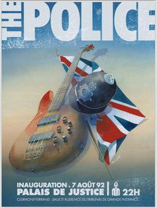 The Police // by Patrick Prugne // Format 60x80