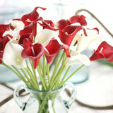 10pcs Artificial Calla Lily