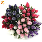 12PCS New Plastic Artificial Strawberry Flower