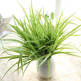 2Pcs/lot Eucalyptus Artificial Fake Flower Swords Grass-Solid Charm