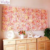 40x60cm Silk Rose Flower Backdrop Multiple Colors