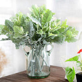 5pcs Beautiful Silver Chrysanthemum