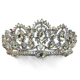 Baroque Vintage Retro Crystal Tiara 4 Colors