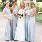 Bridesmaid Dress Pleated Floor length Country Beach Wedding