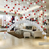Crystal Glass Bead Curtain Multiple Colors