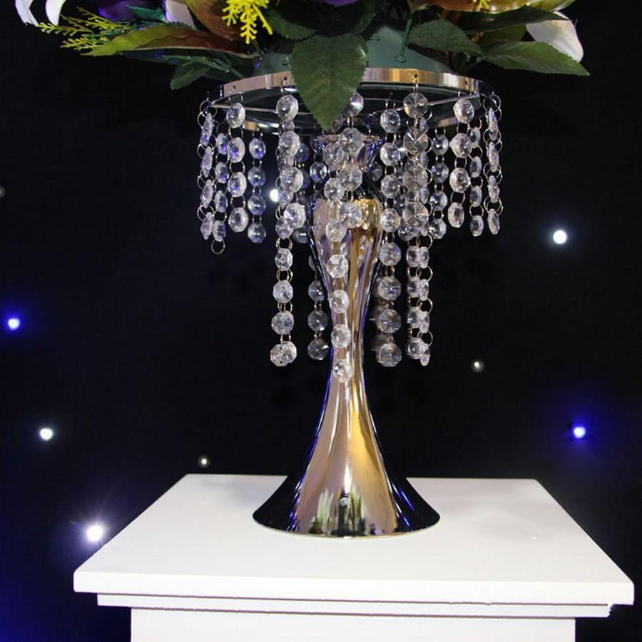 undefined & gold silver wedding table centerpieces flower vase