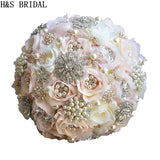 Round Blush Wedding Bouquet