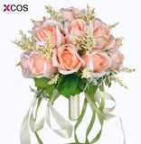 Bridal Bouquet High Quality Ivory Rose