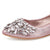 Rhinestone Wedding Flat Shoes
