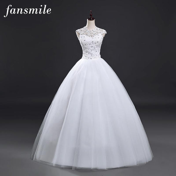 Wedding Dress Ball Gown/ Princess Style Lace Vintage Plus Size Available