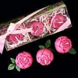 Weddings Candles Gift Peony Flower Rose Candles Wedding Decoration  Centerpieces