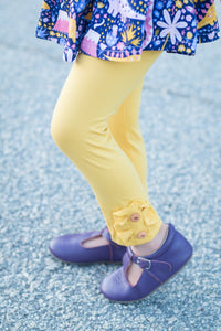 {Maize} Button Leggings