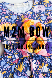 M2M bow for {Darling Dinos} Peplum
