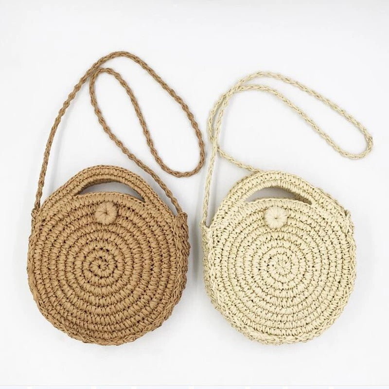 Woven Cross Body Bag