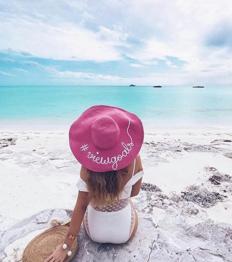 Personalized Beach Hats