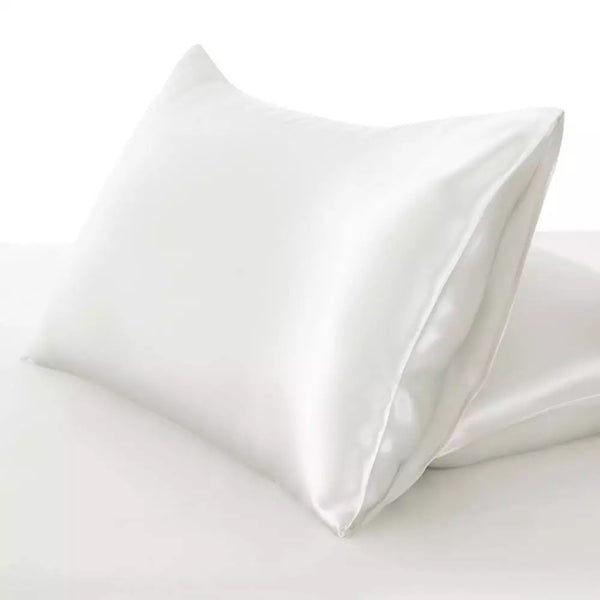 White Satin Pillow Case