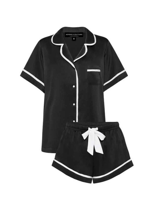 Black Short Pyjama Set