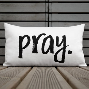 Pray | Pillow
