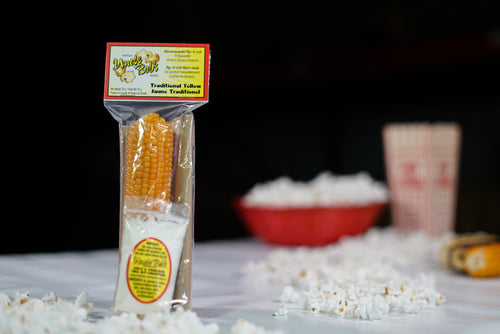 Traditional Yellow Pop A Cob with Salt & Vinegar Seasoning