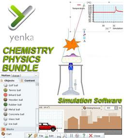Yenka All Science Software Bundle: School Site License