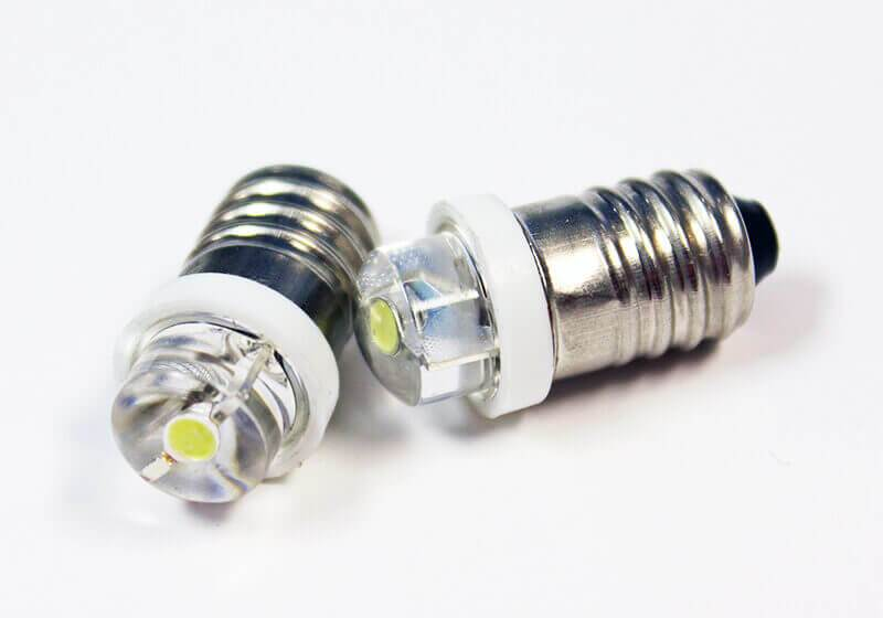 LED 3.2v 25mA miniature Bulb/10 pack