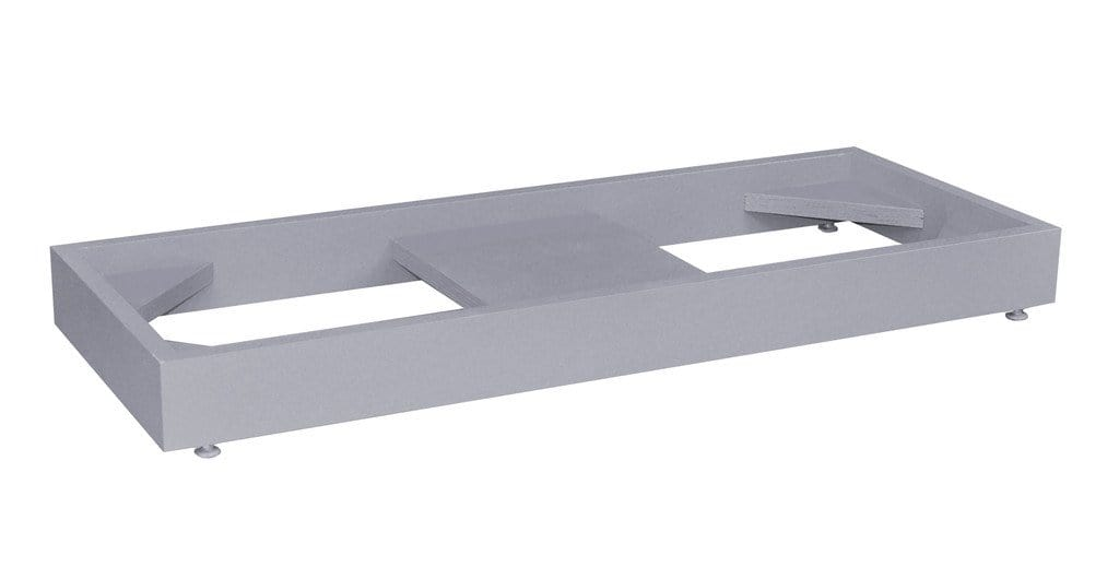 Stak-a-Cab Floor Stand Gray