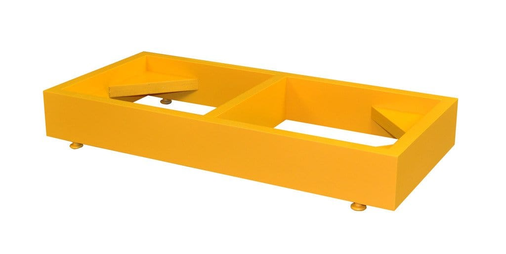 Mini-Stak-a-Cab Floor Stand Yellow