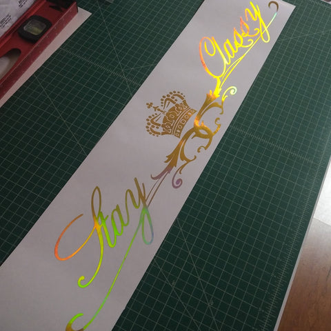 Stay Classy | Premium Windshield Banner,  - Riddle Wares