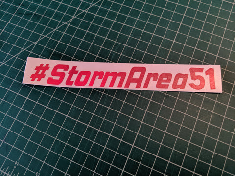 #StormArea51 Decal,  - Riddle Wares