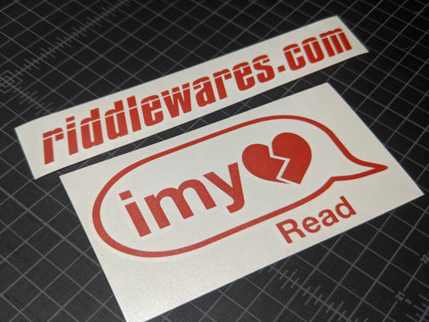 imy Decal,  - Riddle Wares