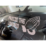Praise The Lowered Decal,  - Riddle Wares