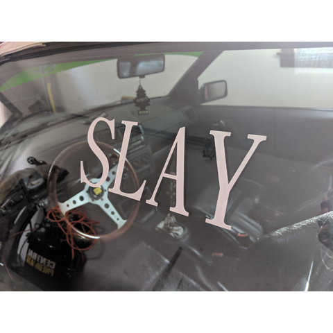 Slay Decal,  - Riddle Wares