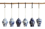 Blue & White Ginger Jar Ornaments