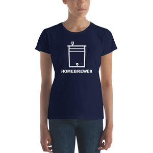 Homebrewer Shirt with Fermenting Bucket