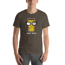Load image into Gallery viewer, Beer Nerd Distressed - Color - Beer Nerd Shirts